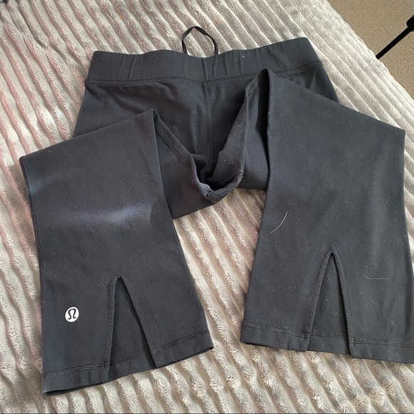 Lulu lemon cropped flare pants